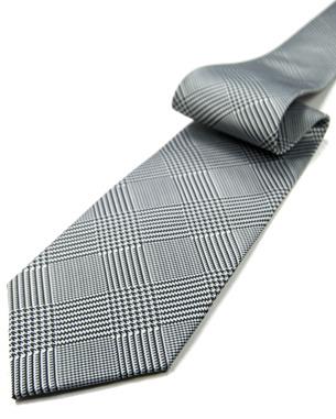 42f673738d78 Slim Classic Glen Plaid Tie | Jaan J. - The Home of Non-Silk Vegan Ties